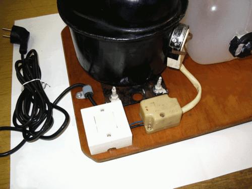 compressor07 500x375 - DIY: Homemade Airbrush Compressor