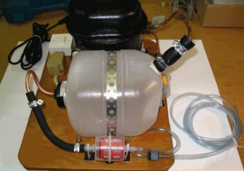 compressor09 500x349 - DIY: Homemade Airbrush Compressor