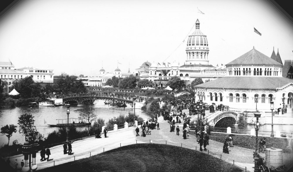 Chicago Worlds Columbian Exposition 1893 1000x590 - 1893: The Columbian Exposition in Chicago