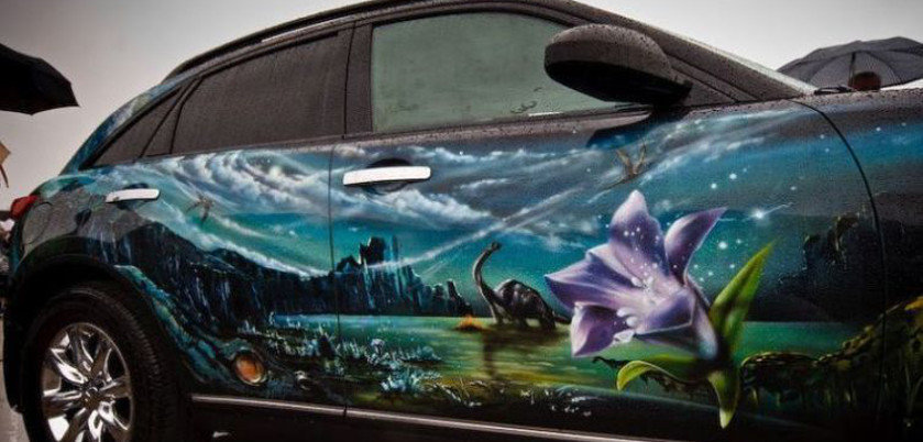 Re-Inspired – aerografpro.ru – Airbrush Car Gallery of Russia Exhibition Show