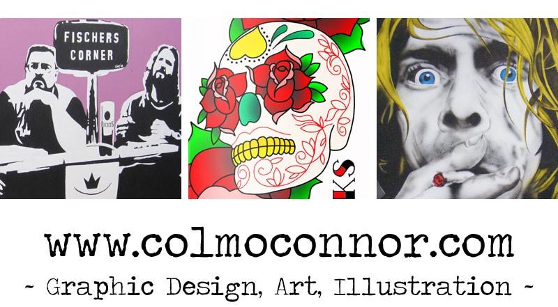Colm Oconnor Art 2 - Colm O'Connor (Irish Airbrush Artist)