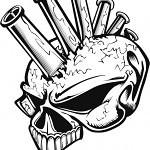coolskull 009 aerografpro.ru  150x150 - 50 Skull Stencils (.ai .cdr .eps .jpg)