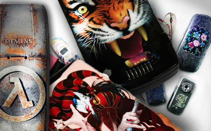 Airbrushed Phones – Big Gallery!