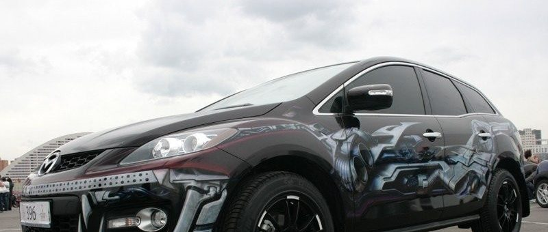 Airbrushed Cars Gallery – Russia Again