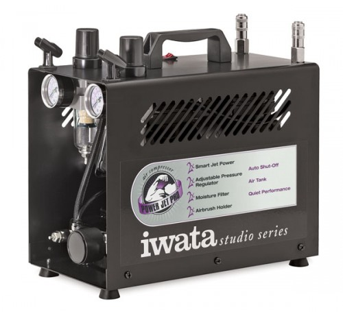 iwata power jet pro studio compressor 2 500x455 - Choosing The Right Air Compressor