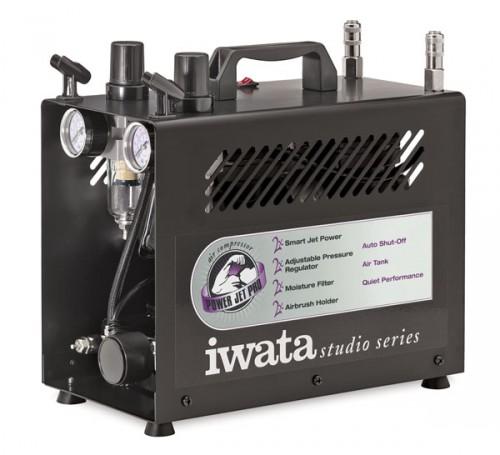 iwata power jet pro studio compressor 2 500x455 - Choosing The Right Air Compressor