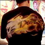 airbrush scull 0 150x150 - Real Flames and Skulls Obsession...