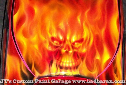 airbrush scull 12 500x339 - Real Flames and Skulls Obsession...