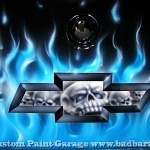 airbrush scull 21 150x150 - Real Flames and Skulls Obsession...