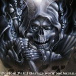 airbrush scull 30 150x150 - Real Flames and Skulls Obsession...