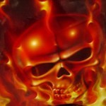 airbrush scull 4 150x150 - Airbrush Designs from Steven Lane