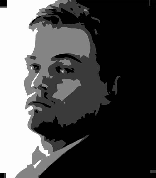 LeonardoDiCaprio preview - Multilayer Stencils