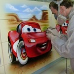Cars airbrush kozlov2 150x150 - Mad Airbrush Art by Nikolay Kozlov