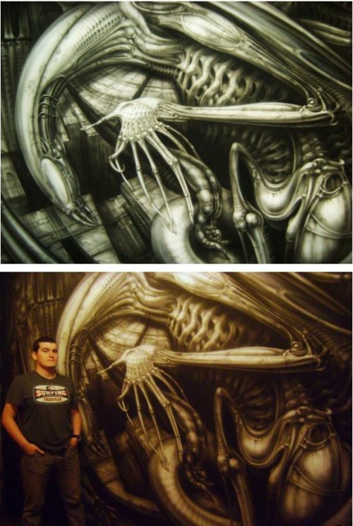 Mad Airbrush Nikolay Kozlov 17 500x746 - Mad Airbrush Art by Nikolay Kozlov