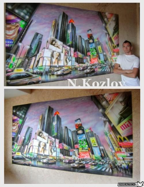 Mad Airbrush Nikolay Kozlov 5 500x651 - Mad Airbrush Art by Nikolay Kozlov