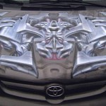 Nikolay Kozlov Airbrush Car 1 150x150 - Mad Airbrush Art by Nikolay Kozlov