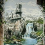 airbrush mural 7 150x150 - Mad Airbrush Art by Nikolay Kozlov