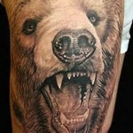 3D bear tattoo 150x150 - Permanent or Temporary Tattoos (3D)