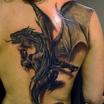 3D tattoo dragon 150x150 - Permanent or Temporary Tattoos (3D)