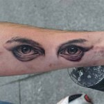 3D tattoo eyes 150x150 - Permanent or Temporary Tattoos (3D)