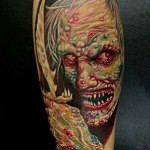3D tattoo horror 150x150 - Permanent or Temporary Tattoos (3D)