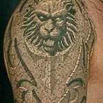 3D tattoo lion 150x150 - Permanent or Temporary Tattoos (3D)