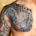 3D tattoo mecha 150x150 - Permanent or Temporary Tattoos (3D)