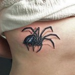 3D tattoo spider 150x150 - Permanent or Temporary Tattoos (3D)
