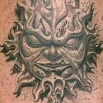 3D tattoo sun 150x150 - Permanent or Temporary Tattoos (3D)