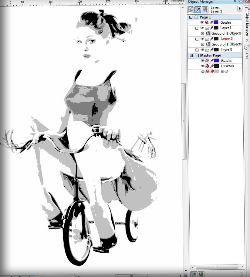 How to Make Layered Stencil in CorelDraw