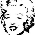 Marilyn 150x150 - Free Stencils Update