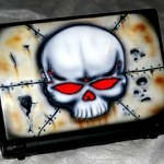 airbrush on laptop 30 150x150 - Airbrush Laptop Cover