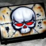 airbrush on laptop 30 150x150 - Airbrush Laptop Cover
