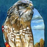 brother hawk 150x150 - J.W. Baker - Fantasy and Wildlife Art