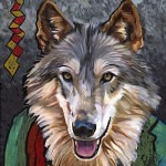 brother wolf 150x150 - J.W. Baker - Fantasy and Wildlife Art