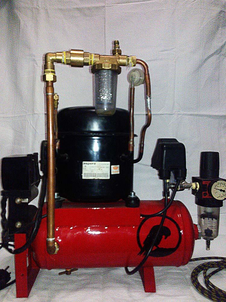 diy compressor 03 - DIY Compressor by Albastrelu Viorel