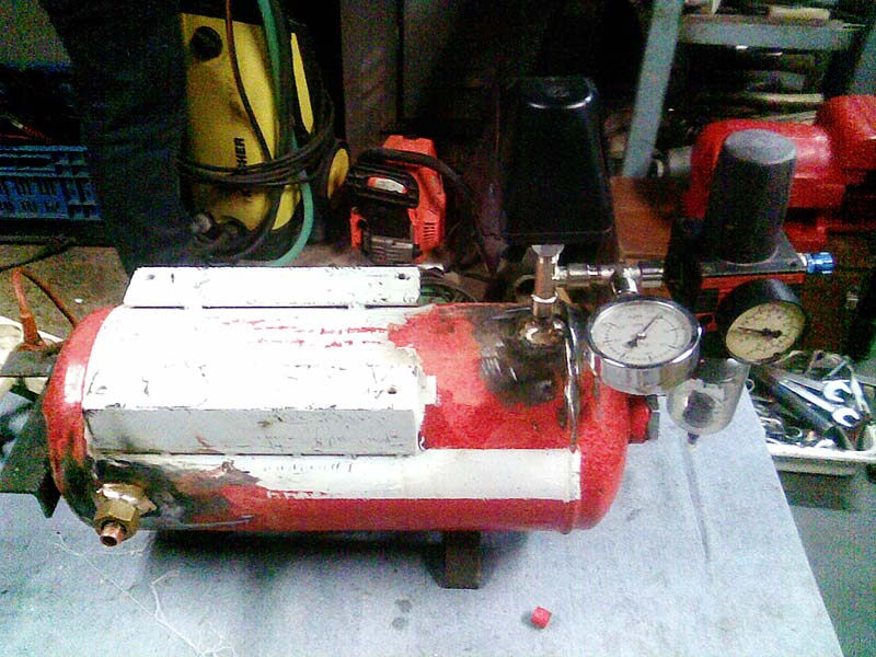 diy compressor 04 - DIY Compressor by Albastrelu Viorel