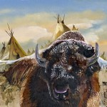 feed the fire 150x150 - J.W. Baker - Fantasy and Wildlife Art
