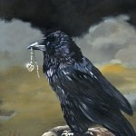 J.W. Baker   Fantasy and Wildlife Art image.