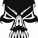 skull1 150x150 - Free Stencils Update
