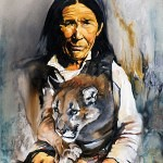 spirit within 150x150 - J.W. Baker - Fantasy and Wildlife Art
