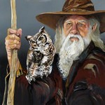 wise counsel 150x150 - J.W. Baker - Fantasy and Wildlife Art