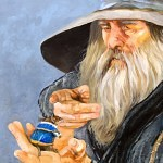wizards apprentice 150x150 - J.W. Baker - Fantasy and Wildlife Art