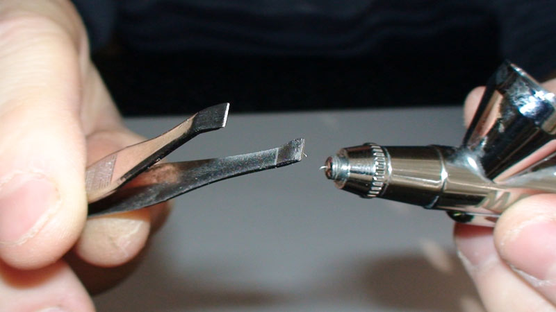 Bent Airbrush Needle 2 - 5 Ways to Fix Bent Airbrush Needle