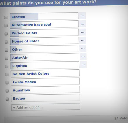 Screenfacebookquestion - Advanced Guide to Airbrush Paint