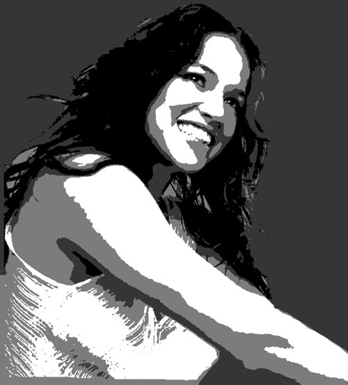MichelleRodriguez preview - Multilayer Stencils