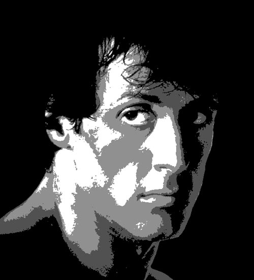 SylvesterStallone preview - Multilayer Stencils