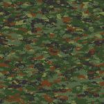 Camouflage pattern 5 150x150 - Airbrushing a Birthday Present
