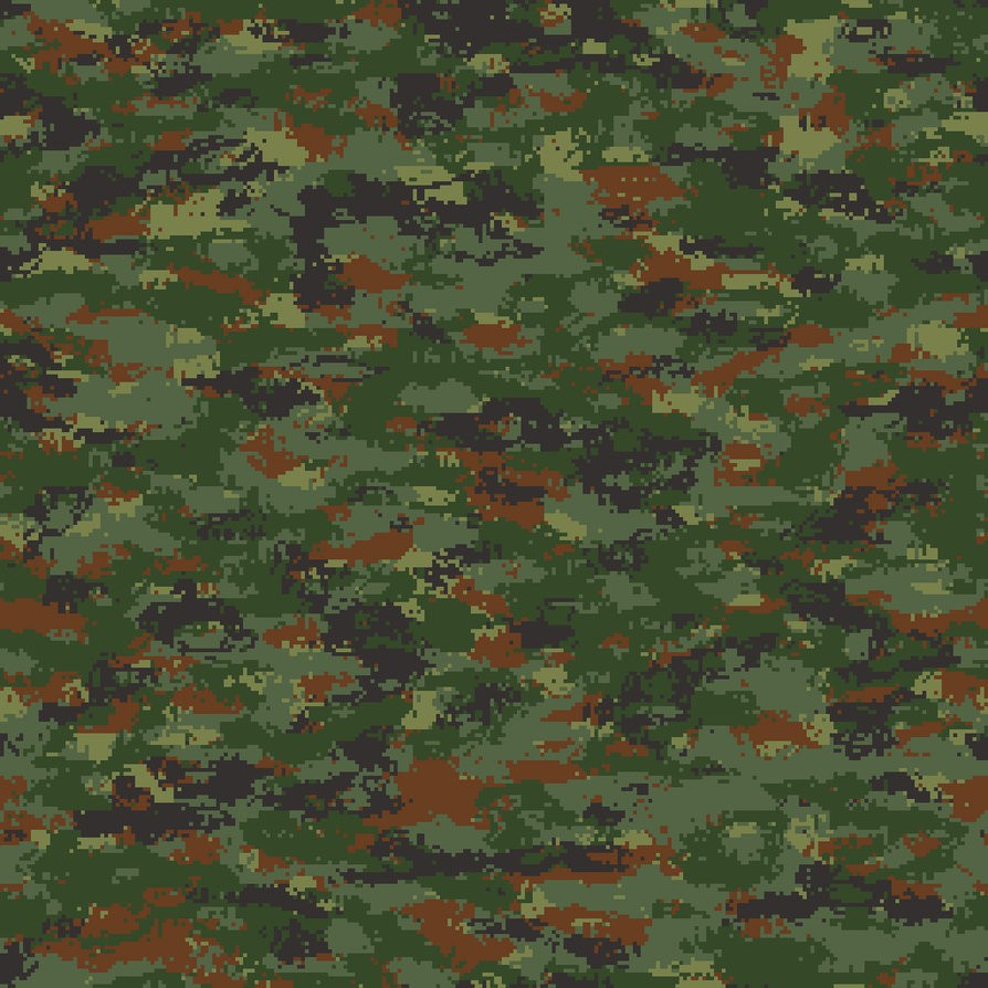 Camouflage Reference and Stencils
