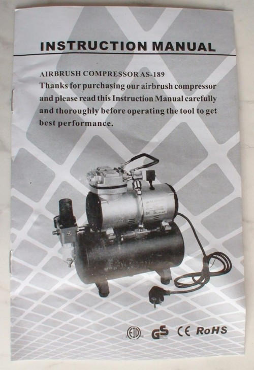 as189 3 500x729 - Airbrush Compressor Review (AS189)